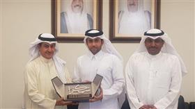 وفد جامعة حمد بن خليفة يزور جامعة الكويت