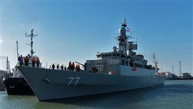 قطع حربية إيرانية تتجه إلى المياه الدولية