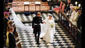 في الذكرى الأولى لزواجهما.. كواليس حفل زفاف الأمير هاري وميغان
