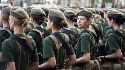 مُجنَّدات في الجيش الأوكراني يُحاربن ظاهرة التحرّش الجنسي