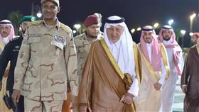 الأمير خالد الفيصل يستقبل الفريق أول حمدان