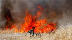موجة الحر تتسبب في حرائق واسعة بمصر والشام
