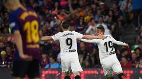 فالنسيا بطلا لكأس الملك على حساب برشلونة
