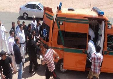 مصر.. مصرع 7 رجال شرطة باشتعال سيارتهم