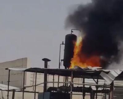 الإطفاء: إخماد حريق نشب في مصنع خاص بصناعة الإسفلت بمنطقة أمغرة