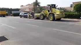 تحرير 45 مخالفة ومصادرة حمولة 40 م3 أثاث مستعمل بـمنطقة الري
