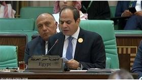 الرئيس المصري: نرفض متاجرة الإرهابيين بقضية فلسطين