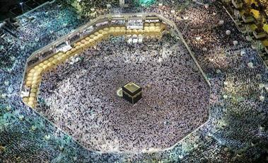 أكثر من مليوني مصلٍ في المسجد الحرام ليلة 27 رمضان