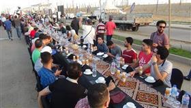 أكبر وأطول مائدة إفطار مصرية
