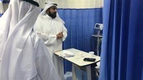 وزير الصحة يقوم بجولة تفقدية في مستشفى الأميري للوقوف على جاهزيته