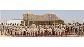 نائب رئيس الأركان يزور قوة واجب مبارك «بوبيان» مهنئا بالعيد