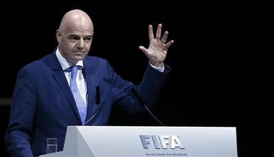 إنفانتينو رئيساً للفيفا حتى 2023
