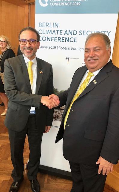 سفير الكويت لدى ألمانيا يؤكد ضرورة اتخاذ اجراءات سريعة لحماية المناخ