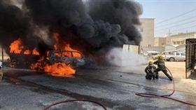 «الإطفاء»: حريق 7 مركبات في ساحة ترابية بمنطقة الظهر.. دون إصابات بشرية
