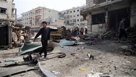 تحذير أممي من «كارثة انسانية» في إدلب السورية