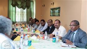 """لقاء رئيس الوزراء الإثيوبي آبي أحمد مع قياديين في """"قوى الحرية والتغيير"""""""
