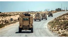 الداخلية المصرية: مقتل 4 من العناصر الإرهابية بمواجهات مع الشرطة في مدينة العريش
