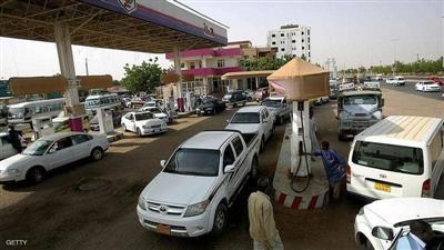 إحدى محطات الوقود في العاصمة السودانية الخرطوم