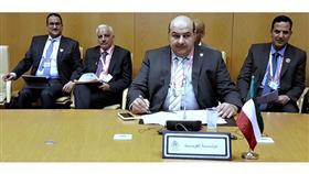 مدير الهيئة العامة للقوى العاملة خلال اجتماع ممثلي وزارات العمل الخليجية