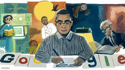 «جوجل» يحتفل بذكرى ميلاد «العراب» أحمد خالد توفيق