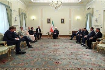 روحاني: أمن المنطقة لن يتحقق أبدا من خلال ممارسة الضغوط على الإيرانيين