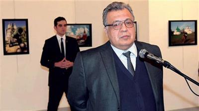 السفير الروسي السابق لدى تركيا أندريه كارلوف