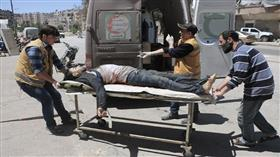 مقتل 12 مدنيًا في قصف صاروخي على حلب السورية