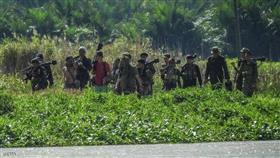 مسلحو داعش يتحصنون بالغابات الكثيفة جنوبي الفلبين