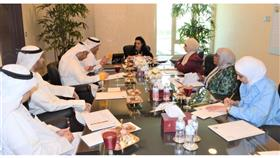 مكتب الشهيد والرعاية السكنية ناقشا آلية تنفيذ قرار منح أرملة الشهيد الكويتية وثيقة الملكية