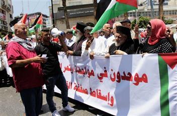 الإضراب يعم قطاع غزة احتجاجاً على «ورشة البحرين»