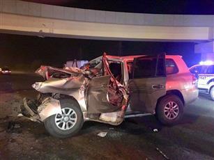 «الإطفاء»: إصابة 3 أشخاص بإصابات بليغة في حادث تصادم على طريق الملك فهد
