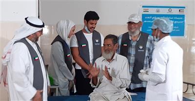 النجاة الخيرية عالجت أكثر من 2000 مريض عيون في الهند