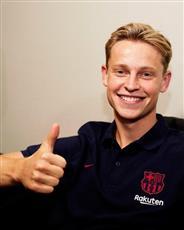 فرينكي دي يونغ: حققت حلمي بالانضمام إلى «برشلونة»