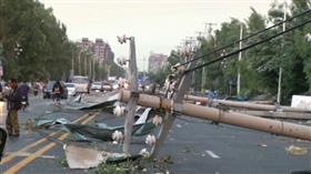 مصرع 6 وإصابة 190 في إعصار مقاطعة لياونينغ بالصين و145 مليون دولار خسائر