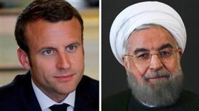 ماكرون يحذر روحاني من عواقب إضعاف الاتفاق النووي