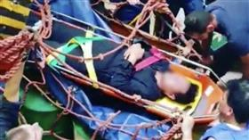 «الإطفاء»: سقوط شخص من علو في غرقة محركات باخرة بميناء الشعيبة