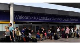 تعليق الرحلات في مطار «غاتويك» في لندن بسبب مشكلة في المراقبة الجوية