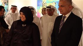 افتتاح معرض «للضوء ملمس خشن» لحيدر الزعيم