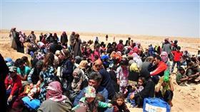 مركز المصالحة الروسي: أكثر من 500 شخص غادروا مخيم الركبان في سوريا