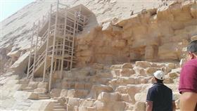مصر: العثور على جدار أثري من عصر الدولة الوسطى