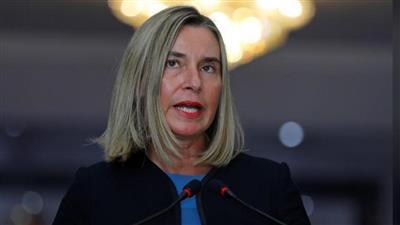 فيدريكا موغيريني مسؤولة السياسة الخارجية بالاتحاد الأوروب
