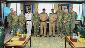الفريق النهام يشيد بالتعاون الكويتي الأمريكي في الميادين العسكرية البحرية