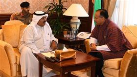 النائب الأول يبحث مع سفير بوتان العلاقات الثنائية