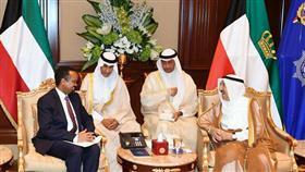 سمو الأمير يستقبل وزير المالية الأثيوبي