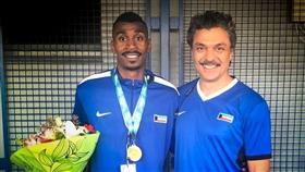 «ألعاب القوى» يشيد بإحراز اللاعب اليوحة ذهبية فرنسا الدولية