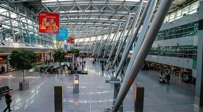 مطار دوسلدورف الألماني