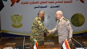 رئيسا الأركان المصري والسوداني