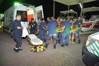وفاة مواطن وإصابة اثنين في تصادم قاربين مقابل المركز العلمي