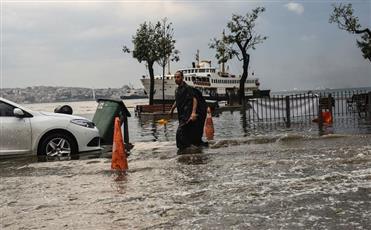 ارتفاع ضحايا الفيضانات شمال تركيا إلى 5 قتلى