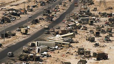الغزو العراقي الغاشم على البلاد - تعبيرية